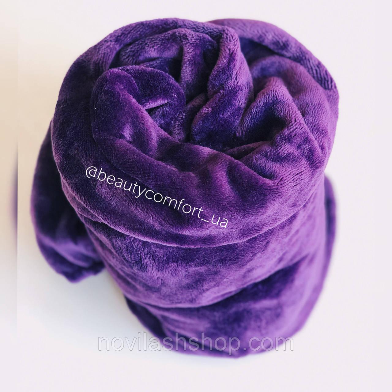 Фіолетовий NEW чохол на кушетку махра (на кушетку 70/190)