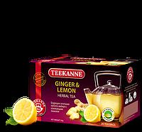 Чай TEEKANNE (Тикан) травяной с имбирем и лимоном 20 пакетов