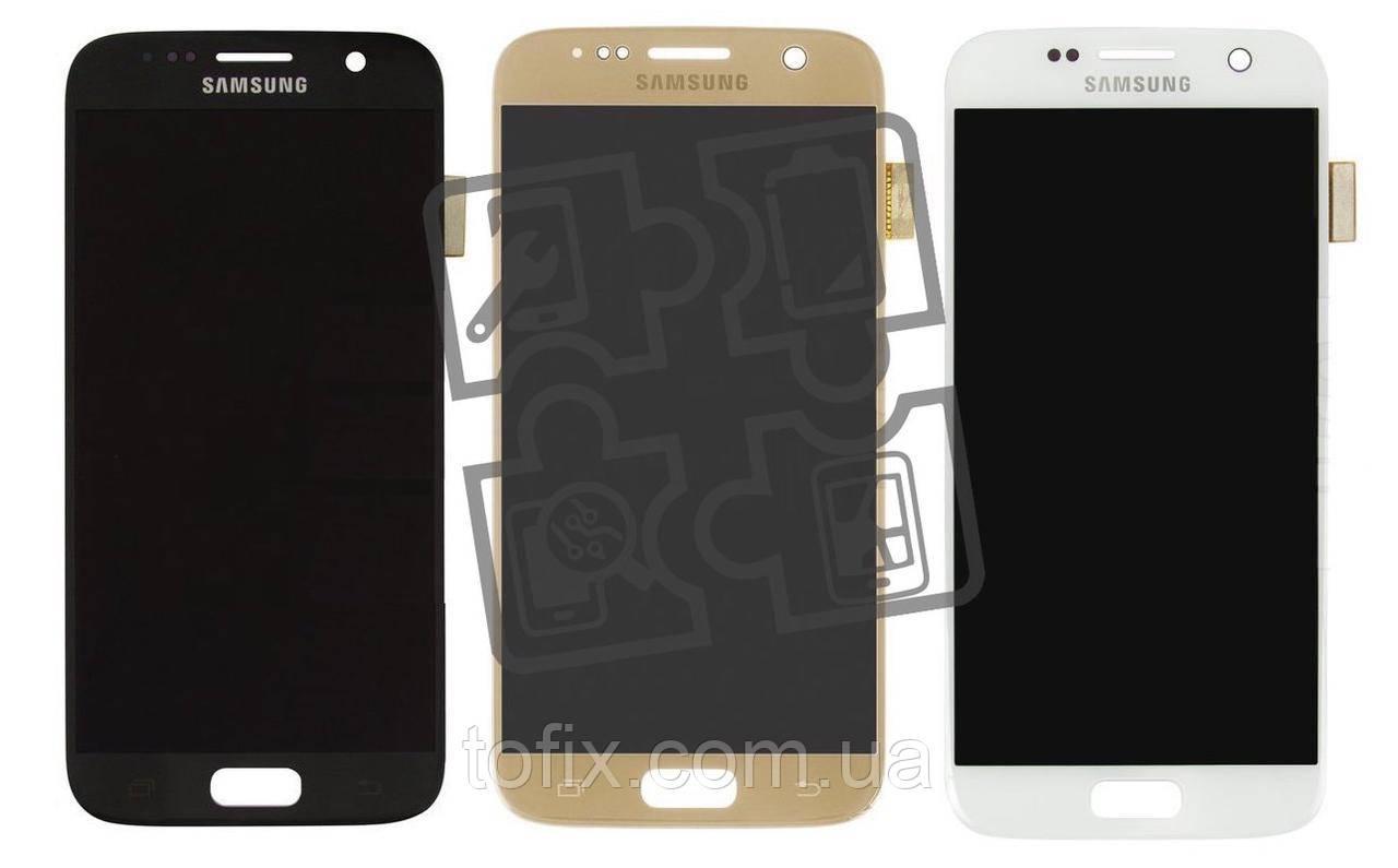 Дисплейный модуль (экран и сенсор) для Samsung Galaxy S7 G930, OLED