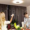 Функциональный Led светильник Intelite 63W 3000-6000K 220V с дистанционным управлением, фото 2