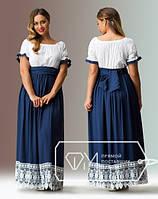 Платье макси большого размера, платье в пол 48-56