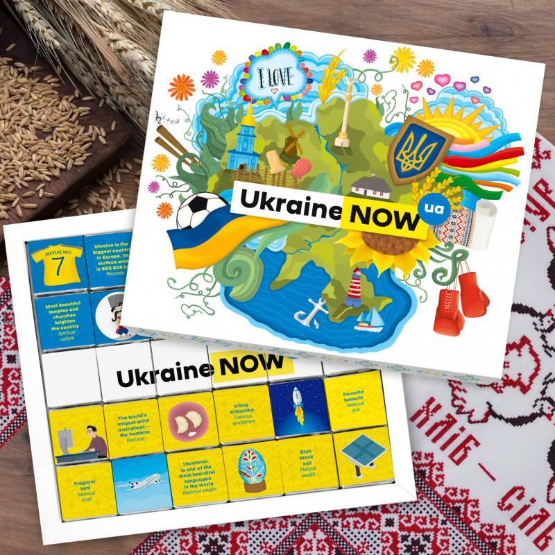 """Шоколадний набір """"Ukraine Now"""" 150 г"""