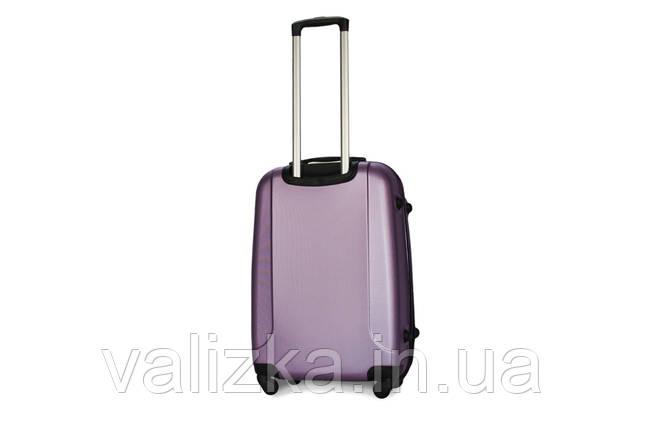 Средний пластиковый чемодан Fly  310 фиолетовый, фото 2