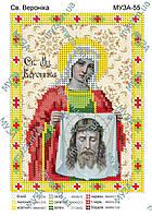 Св. Вероника схема под вышивку бисером