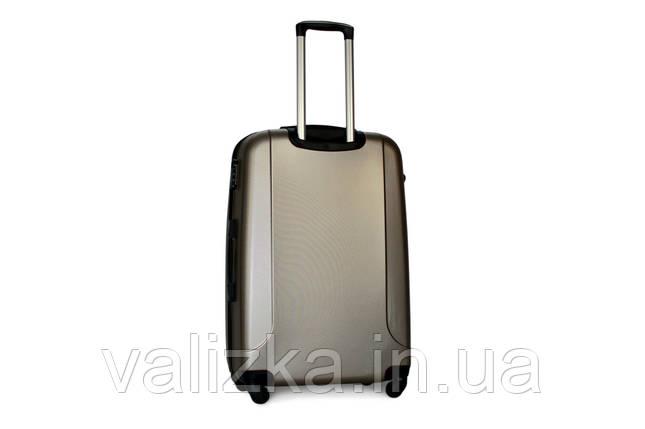 Большой пластиковый чемодан Fly 310 шампань, фото 2