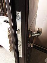Наружные входные двери Редфорт Горизонталь молдинг на улицу, фото 3