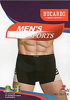 Трусы мужские боксеры хлопок с бамбуком Bucardo, размеры L-3XL, 106, фото 1