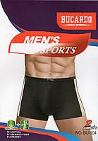 Трусы мужские боксеры хлопок с бамбуком Bucardo, размеры L-3XL, 104