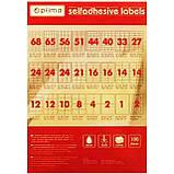 Самоклеящиеся этикетки Optima 51 на листе поштучно, фото 2