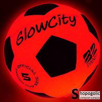 Футбольный Мяч с LED Подсветкой Размер 5