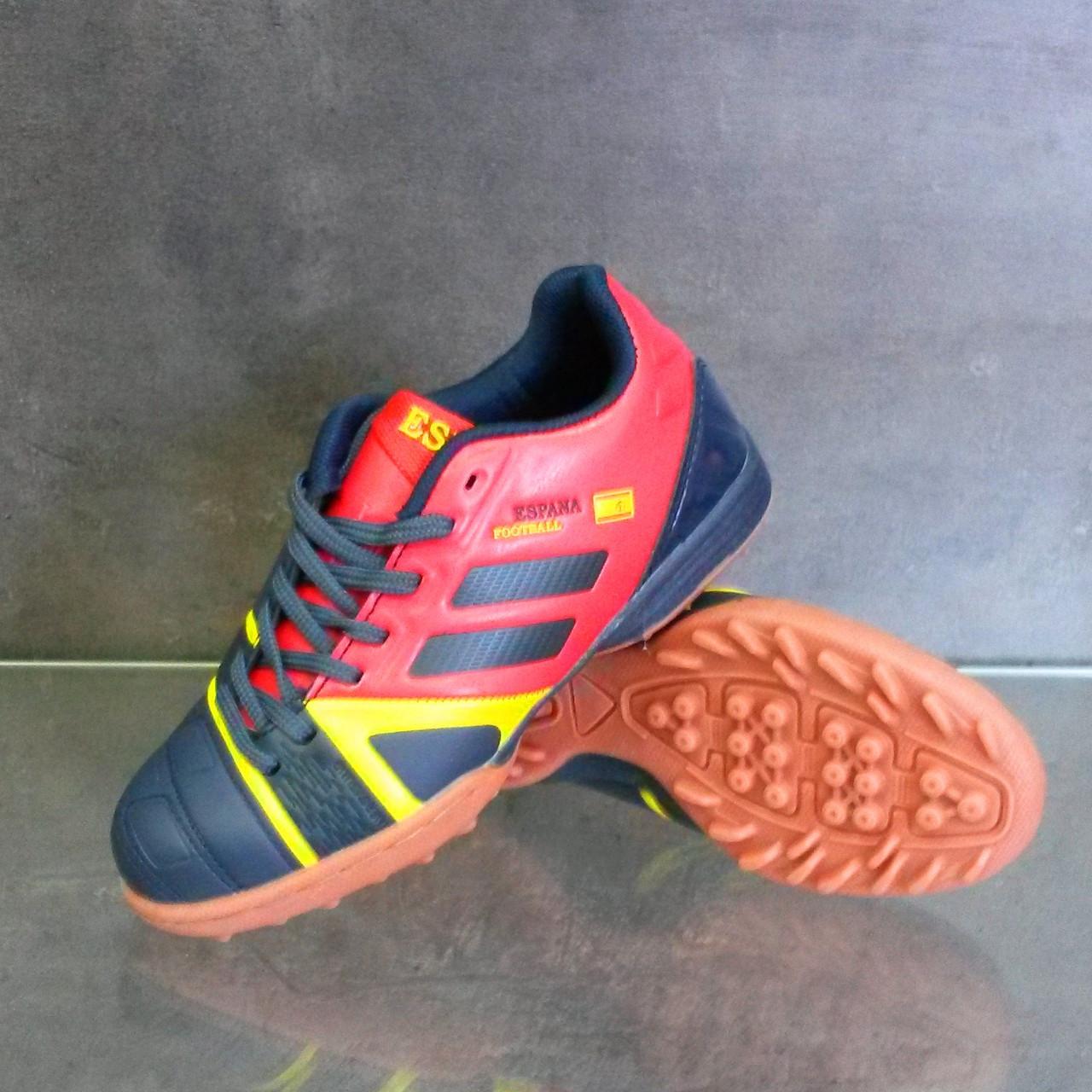 Детская футбольная обувь (сороконожки) Demix SPN TF JR
