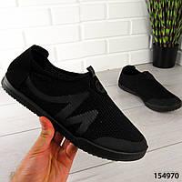 """Мокасины мужские, черные """"Kowze"""" текстильные, туфли мужские, повседневная, удобная, весенняя, мужская обувь"""