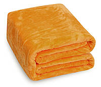 Плед Микрофибра O-008 Однотонный Oulaiya 2381 160x210 см Оранжевый