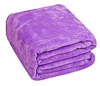 Плед Микрофибра Однотонный O-009 Oulaiya 2398 160x210 см Фиолетовый