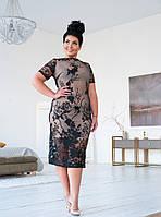 Женское нарядное вечернее платье №41.177 (р.54-56), фото 1