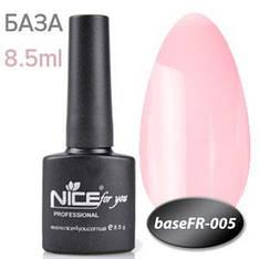 NICE База камуфляж Base FR-005 8.5ml розово натуральный френч