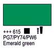 Краска акриловая AMSTERDAM, 20мл (615) Изумрудный зеленый, Royal Talens,  17046150,  8712079347970