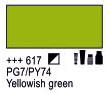 Краска акриловая AMSTERDAM, 20мл (617) Желтовато-зеленый, Royal Talens,  17046170,  8712079342944, фото 2
