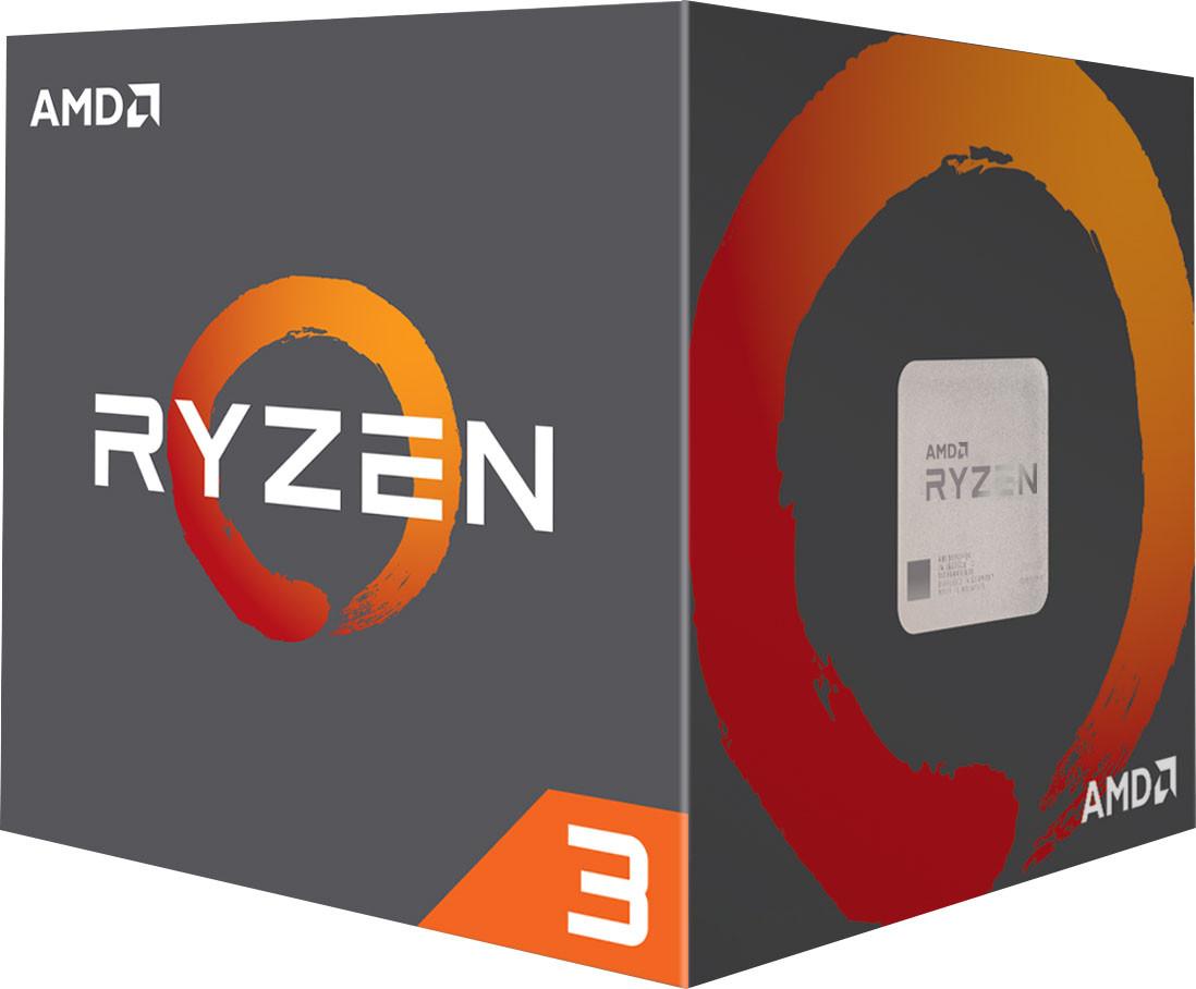 """Процессор AMD Ryzen 3 1200 3.1GHz (YD1200BBAEBOX) sAM4 BOX """"Over-Stock"""""""