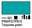 Краска акриловая AMSTERDAM, 20мл (661) Бирюзовый зеленый, Royal Talens,  17046610,  8712079347956, фото 2