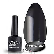 NICE База камуфляж Base FR-007 8.5ml черная эмаль, фото 2