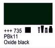 Краска акриловая AMSTERDAM, 20мл (735) Оксидный черный, Royal Talens,  17047350,  8712079342982, фото 2