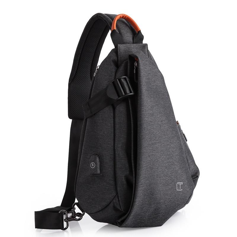 Крутой однолямочный рюкзак через плечо Tangcool TC901, влагозащищённый, 10л