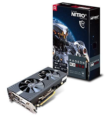 "Видеокарта Sapphire RX 570 Nitro+ 8GB GDDR5 256bit (11266-09-20G) ""Over-Stock"" Б\У"