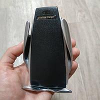 Автомобильный держатель с беспроводным зарядным устройством Smart Sensor S5