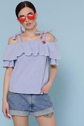Модная летняя блуза в полоску Размеры S, M, L, XL, фото 2