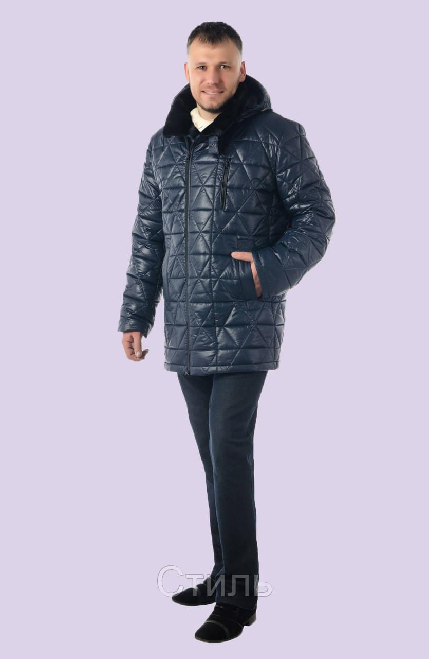 7a7cafe9dd539 Удлиненные мужские зимние куртки и пуховики модные Украина: продажа ...