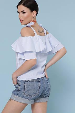 Модная летняя блуза в полоску Размеры S, M, L, XL , фото 2