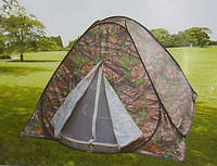 Палатка летняя автомат для туризма и рыбалки с москитной сеткой 2.5*2.5м, фото 1
