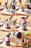 Измельчитель чоппер блендер Capsule Cutter Quatre (стеклянная чаша), фото 8