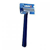 Станок для гоління Gillette*2 1шт синій (1/12/576)