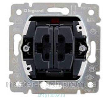 Механизм выключателя 2-го кнопочного Legrand PRO 21