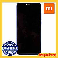 Дисплей Xiaomi Mi 8 Lite с сенсором (тачскрином) и рамкой синий, оригинал 561010010033