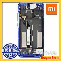 Дисплей Xiaomi Mi 8 Lite с сенсором (тачскрином) и рамкой синий, оригинал 561010010033, фото 2
