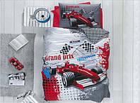 """Полуторный комплект постельного белья для мальчиков """"Формула 1"""" Бязь"""