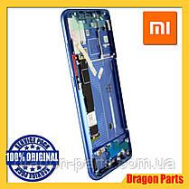 Дисплей Xiaomi Mi 8 с сенсором (тачскрином) и рамкой синий, оригинал 561010006033, фото 3