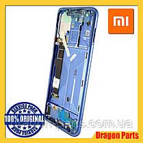 Дисплей Xiaomi Mi 8 с сенсором (тачскрином) и рамкой синий, оригинал 561010006033, фото 2