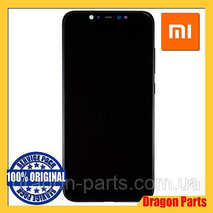 Дисплей Xiaomi Mi 8 з сенсором (тачскрін) і рамкою чорний, оригінал 5606100400B6, фото 2