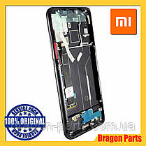 Дисплей Xiaomi Mi 8 з сенсором (тачскрін) і рамкою чорний, оригінал 5606100400B6, фото 3
