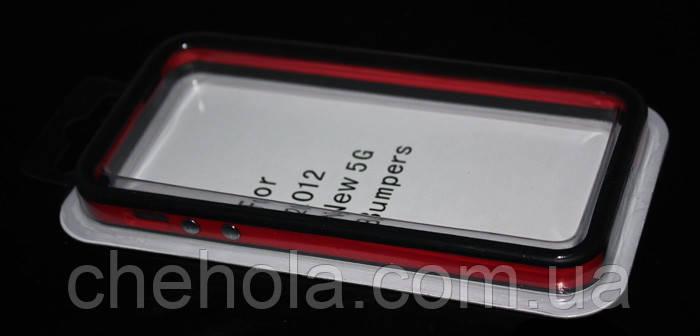Оригинальный бампер для Iphone 5 5S SE Apple Силиконовый Противоударный