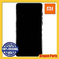Дисплей Xiaomi Mi Mix 2 с сенсором (тачскрином) и рамкой черный, оригинал 560610011033