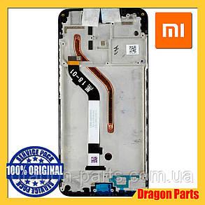 Дисплей Xiaomi Pocophone F1 с сенсором (тачскрином) и рамкой черный, оригинал 560610057033, фото 2