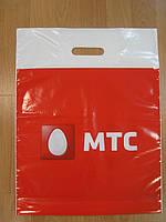 Пакет банан с печатью МТС