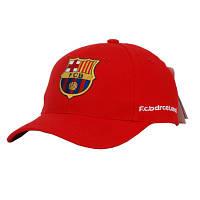 Бейсболка футбольный клуб FC Barcelona красная, фото 1