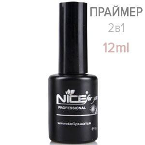 NICE Праймер Primer 2в1 12ml бескислотный