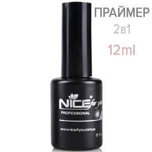 NICE Праймер Primer 2в1 12ml бескислотный, фото 2